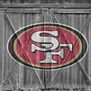 San Francisco 49ers Poster by Joe Hamilton