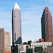 Skyscrapers In A City, Philadelphia Poster