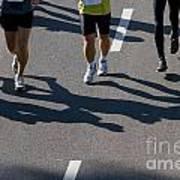 11th Poznan Marathon Poster by Michal Bednarek