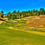 #12 At Chambers Bay Golf Course - Location Of The 2015 U.s. Open Championship Poster