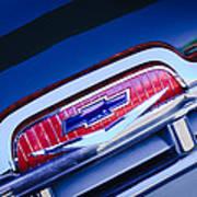 Chevrolet Grille Emblem Poster