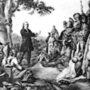 John Wesley (1703-1791) Poster