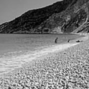 Myrtos Beach Poster