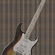 12 Thousand Electric Guitars Poster