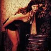 Typewriter Erotica Poster