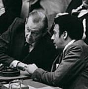 Un Security Council Meeting Poster