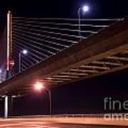 Veterans Glass City Skyway Bridge Poster