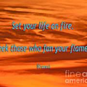 120- Rumi Poster
