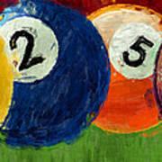 1258 Billiards Poster