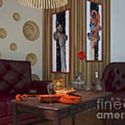 My Art In The Interior Decoration - Elena Yakubovich Poster