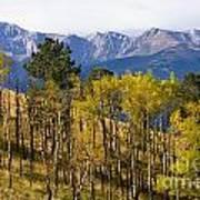 Rocky Mountain Autumn Poster