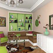 My Art In The Interior Decoration - Elena Yakubovich Poster