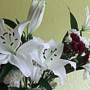 Fresh Cut Flowers Poster