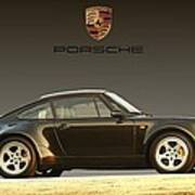 Porsche 911 3.2 Carrera 964 Turbo Poster