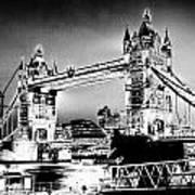 Tower Bridge Art Poster
