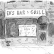 New Yorker November 14th, 2016 Poster