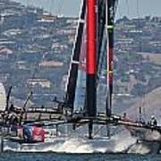 America's Cup San Francisco Poster by Steven Lapkin