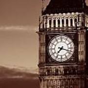 Big Ben Closeup Poster