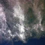 Cloaked Craft Cloud Photograph  Poster