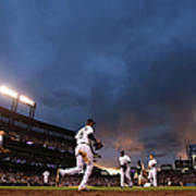New York Mets V Colorado Rockies Poster