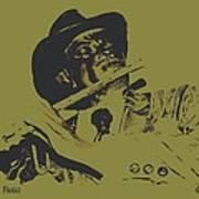 The Jazz Flutist Poster
