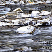 Winter Along Williams River Poster