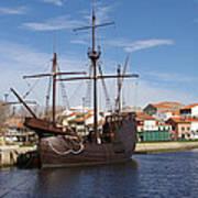 16th Century Ship Poster