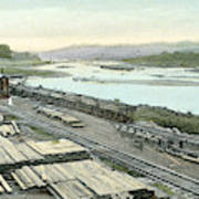 Panama Canal, C1910 Poster