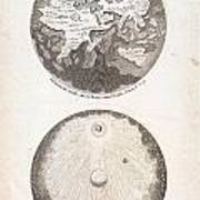 1728 Calmet Map Of The Ancient World Showing The Creation Of The Universe Geographicus Ancientworld  Poster