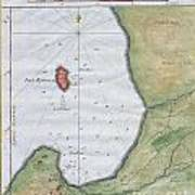 1763 Bellin Map Of Cape Town  Poster