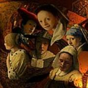 17th Century Maidens Poster