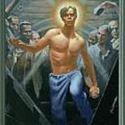 18. Jesus Rises / From The Passion Of Christ - A Gay Vision Poster by Douglas Blanchard
