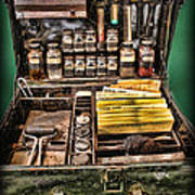 1800's Fingerprint Kit Poster
