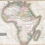 1813 Thomson Map Of Africa Poster