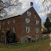 1823 North Carolina Grist Mill Poster