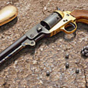 1851 Navy Revolver 36 Caliber Poster by Mike McGlothlen