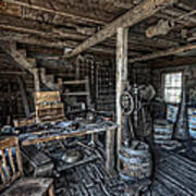 1860's Blacksmith Shop - Nevada City Ghost Town - Montana Poster