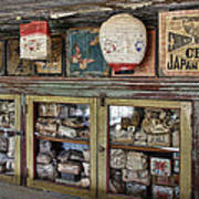 1860's Chinese Mercantile Shop - Montana Poster
