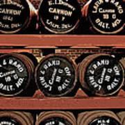1861 Civil War Cannon Powder Magazine Poster