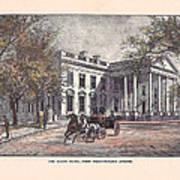 1870's White House Poster