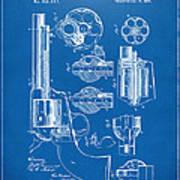 1875 Colt Peacemaker Revolver Patent Blueprint Poster