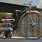 1898 Schwartze Fahrtencycle Poster