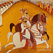 18th Century Indian Painting Poster