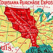 1904 Louisiana Purchase Exposition Poster