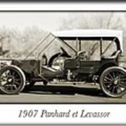 1907 Panhard Et Levassor Poster