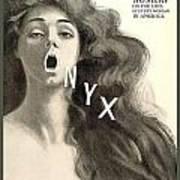 1909 - Onyx Hosiery Advertisement Poster