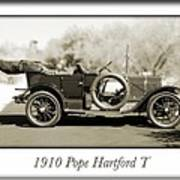1910 Pope Hartford T Poster