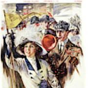 1910s 1912 Cover Sunday Magazine Poster