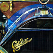 1911 Cadillac Roadster Poster