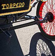 1911 Ford Model T Torpedo Grille Emblem Poster